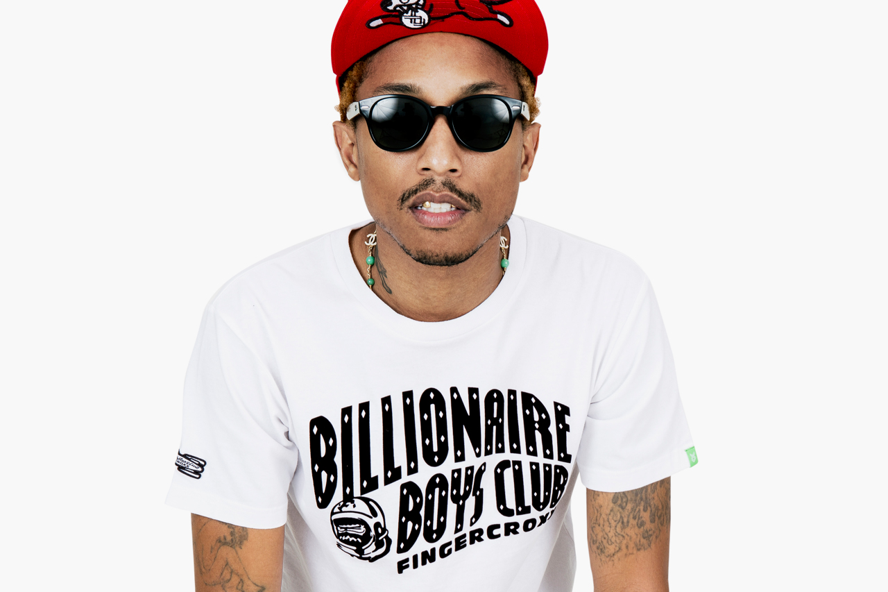 Pharell Williams (Billionaire Boys Club et Ice Cream Clothing)