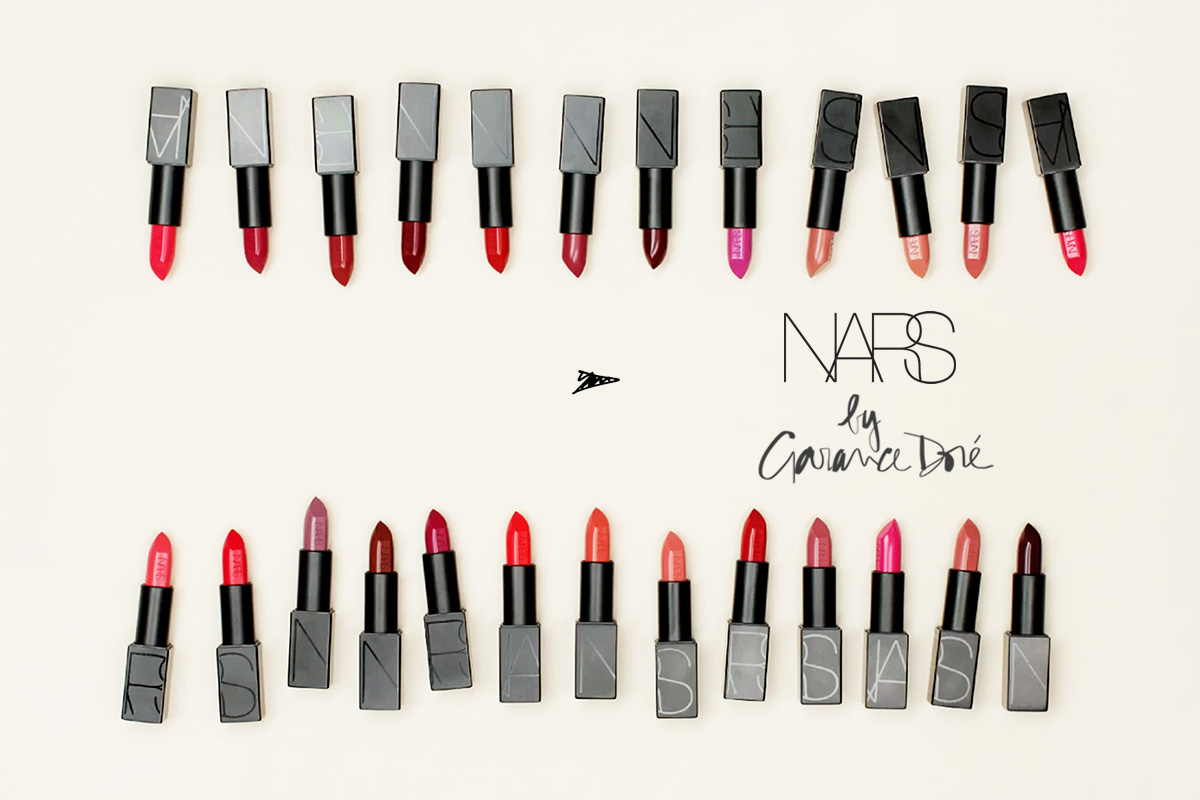 Campagne NARS by Garance Doré